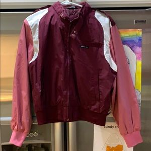 Members Only maroon pink jacket Size Large